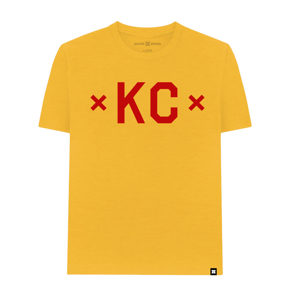 Signature KC T-Shirt - Heather Gold