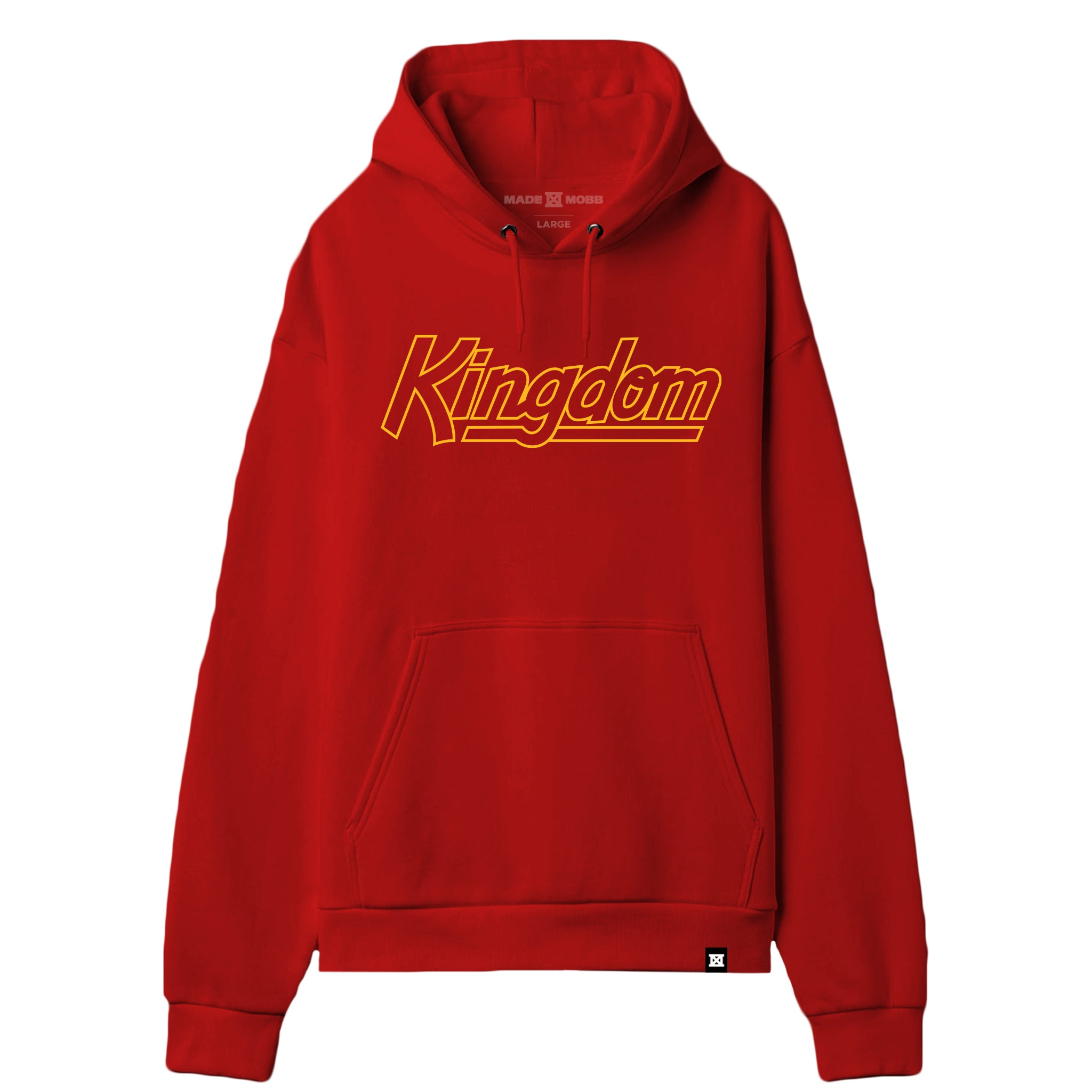 KINGDOM Hoodie - Red / Yellow