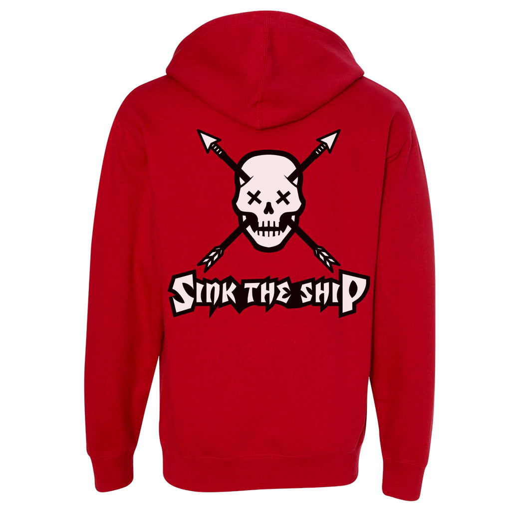 SINK THE SHIP Hoodie - Red