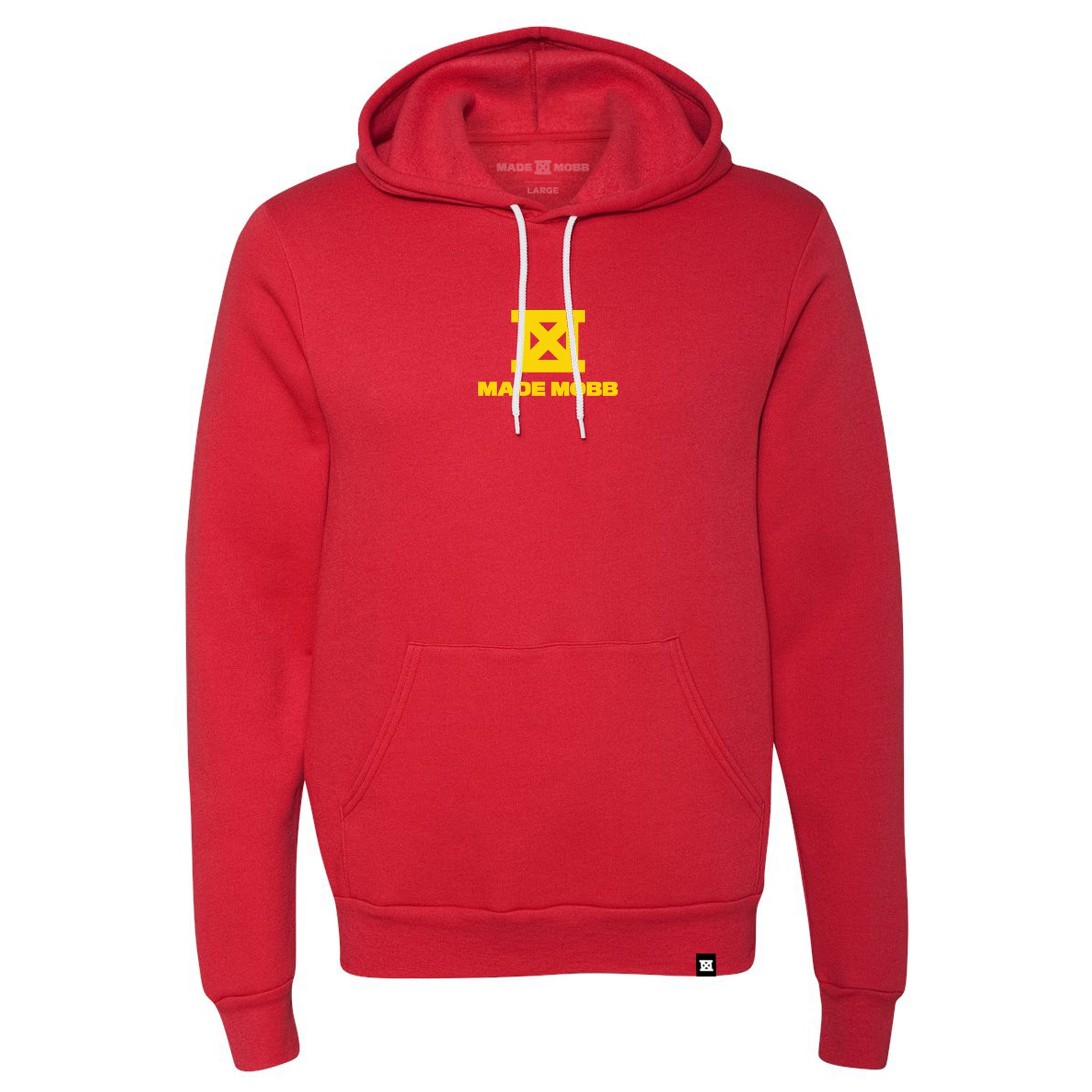 This Aint Luck Hoodie - Red & Yellow