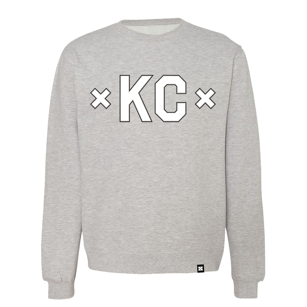 Signature KC Crew - Light Grey