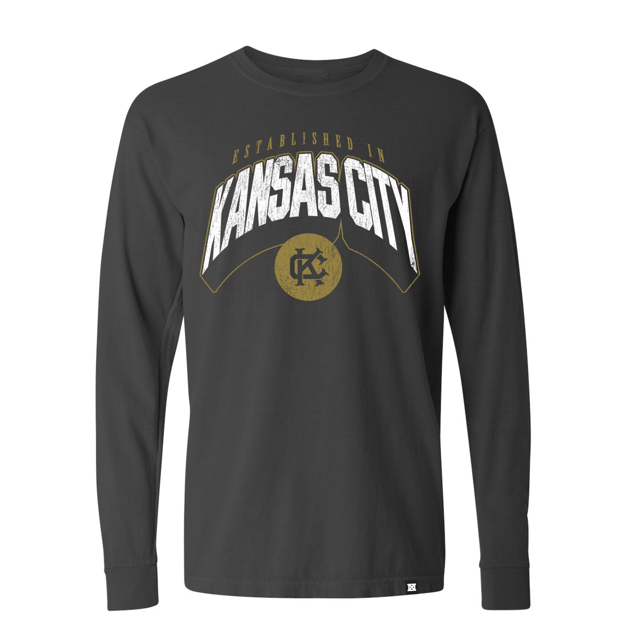 KC Punch Long Sleeve - Grey