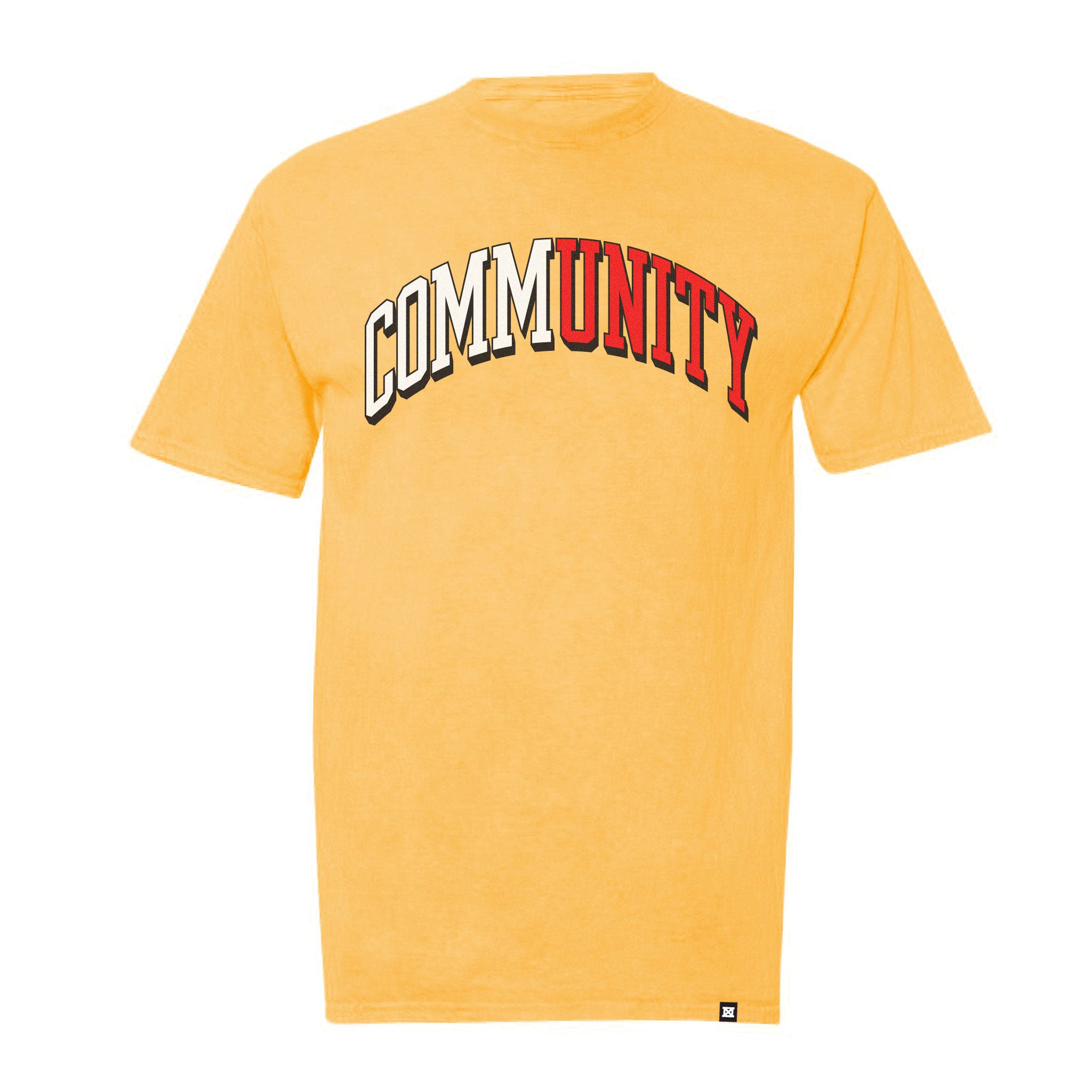 COMMUNITY T-Shirt - Yellow - Limited Stock