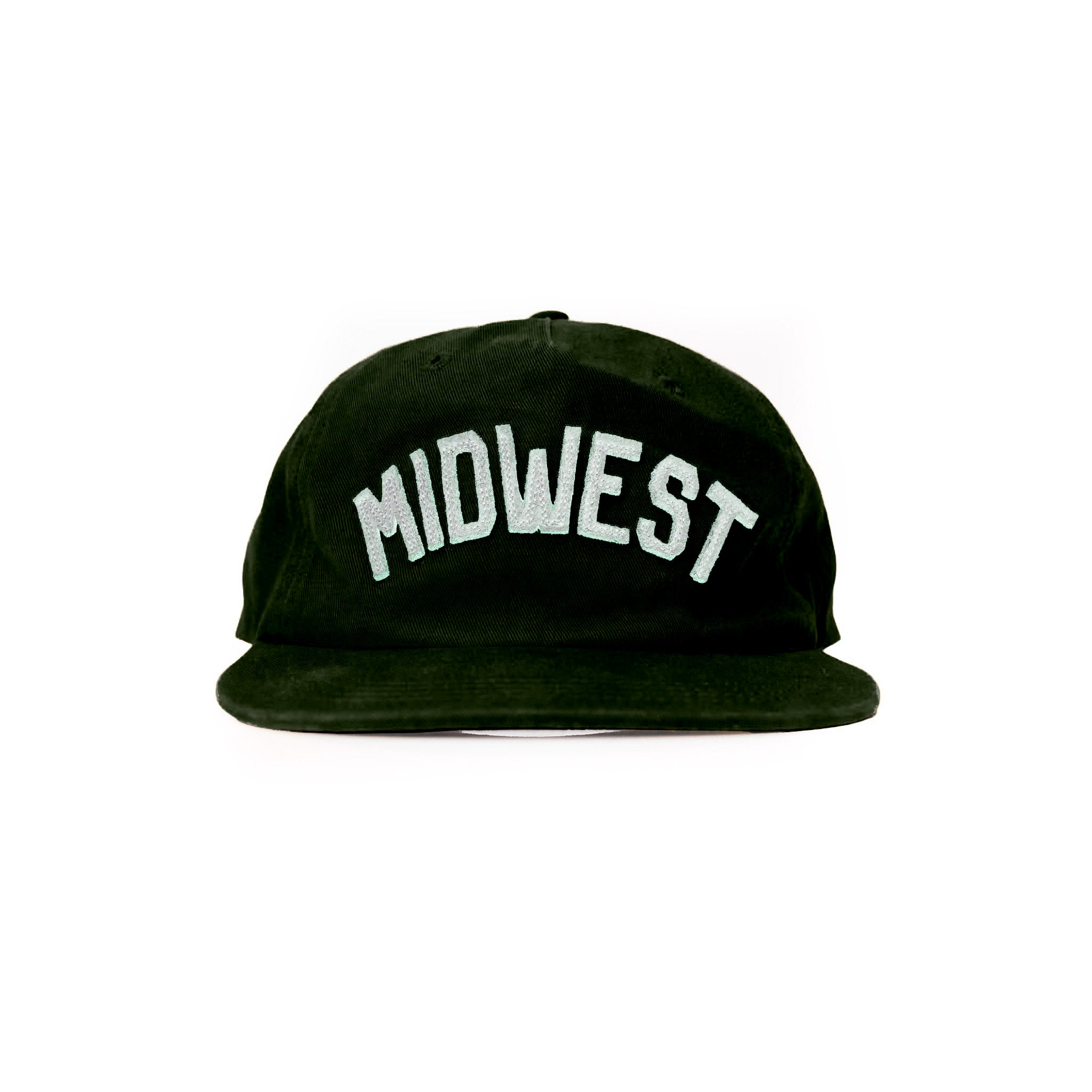 Midwest Hat - Forrest Green