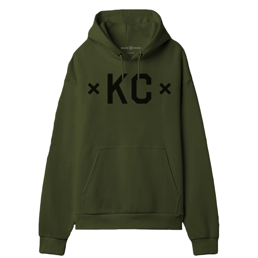 Signature KC Hoodie - Army