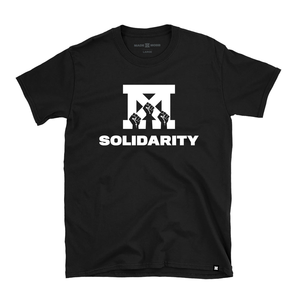 SOLIDARITY T-Shirt - Black - Preorder
