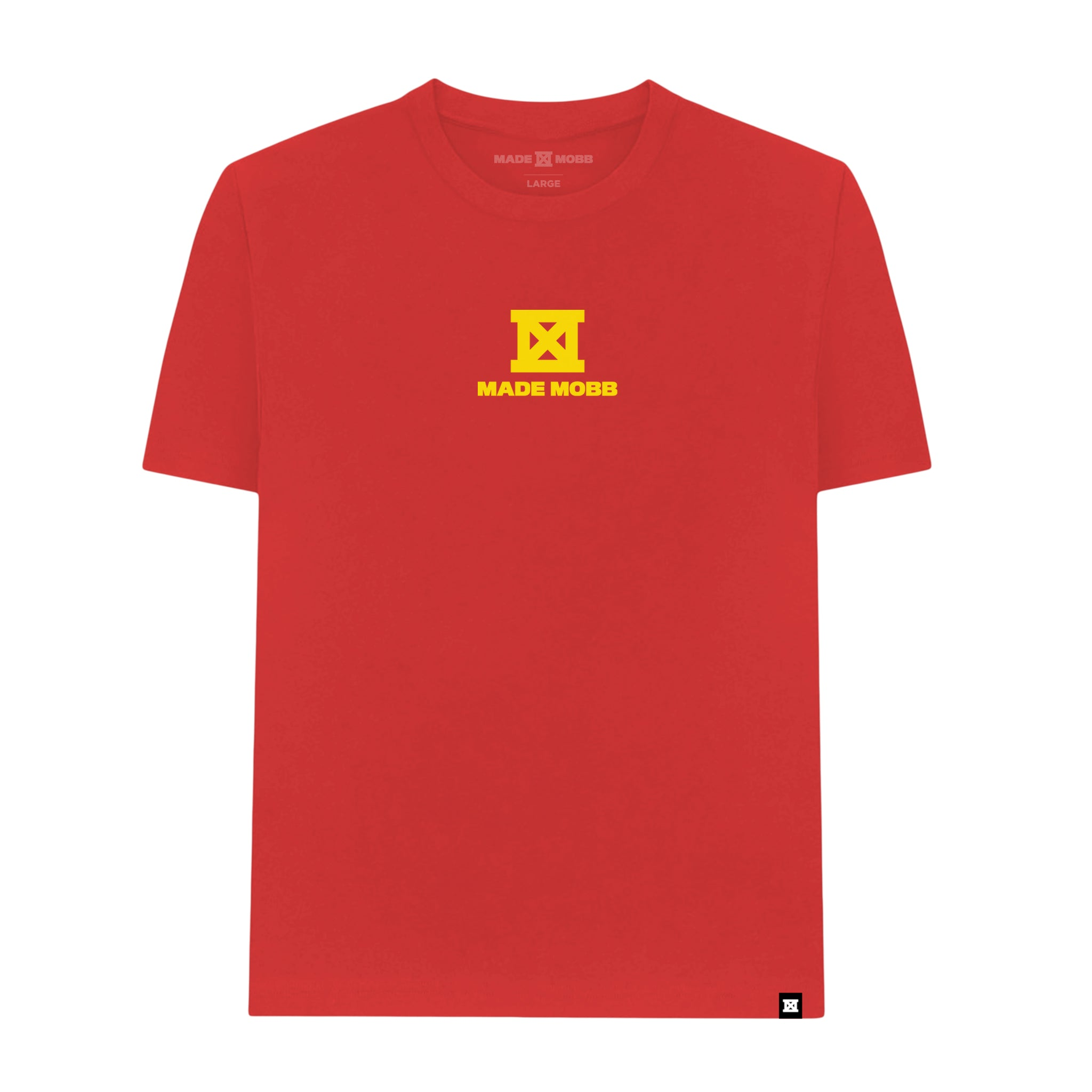 This Aint Luck Tee - Red & Yellow