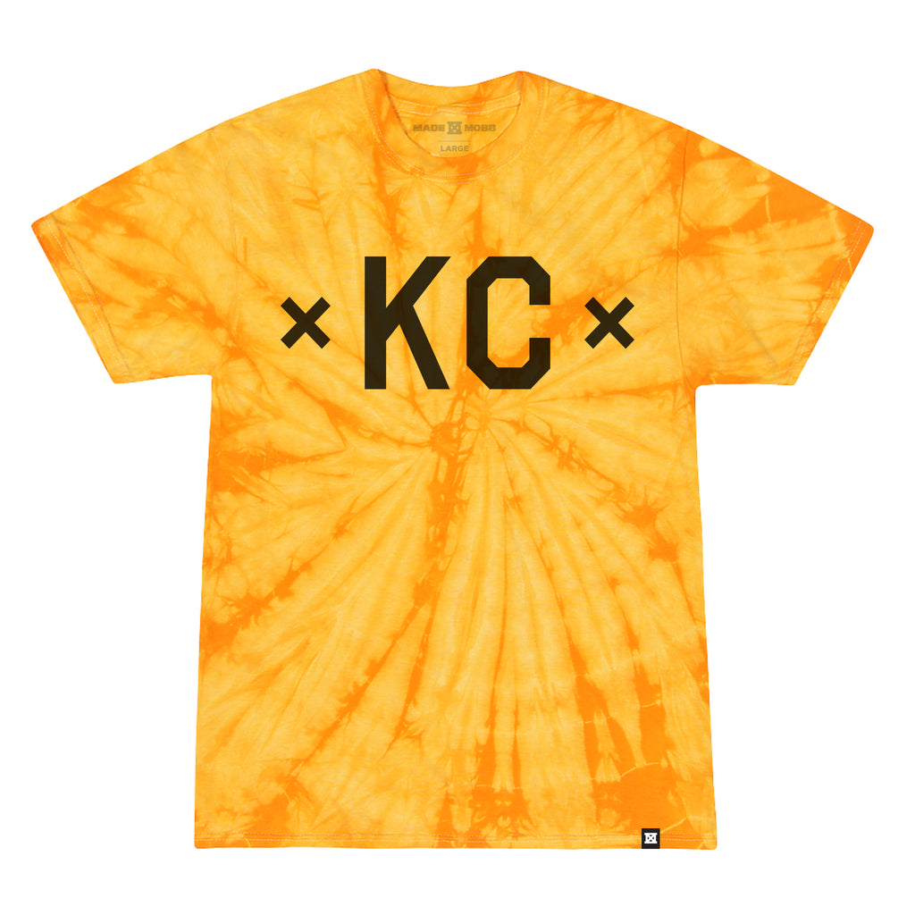 TIE DYE - Signature KC - Gold