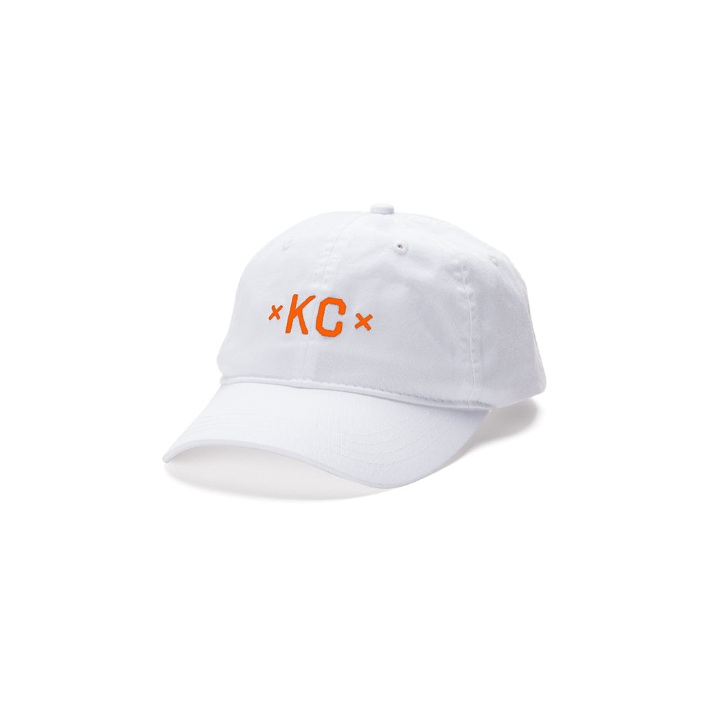 Signature KC Dad Hat - White/Orange