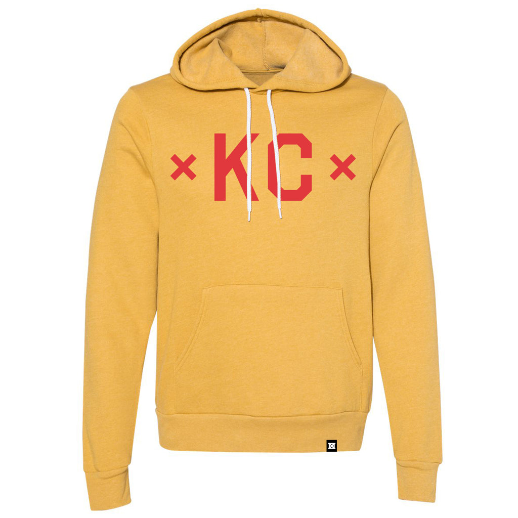 Signature Hoodie - Heather Yellow