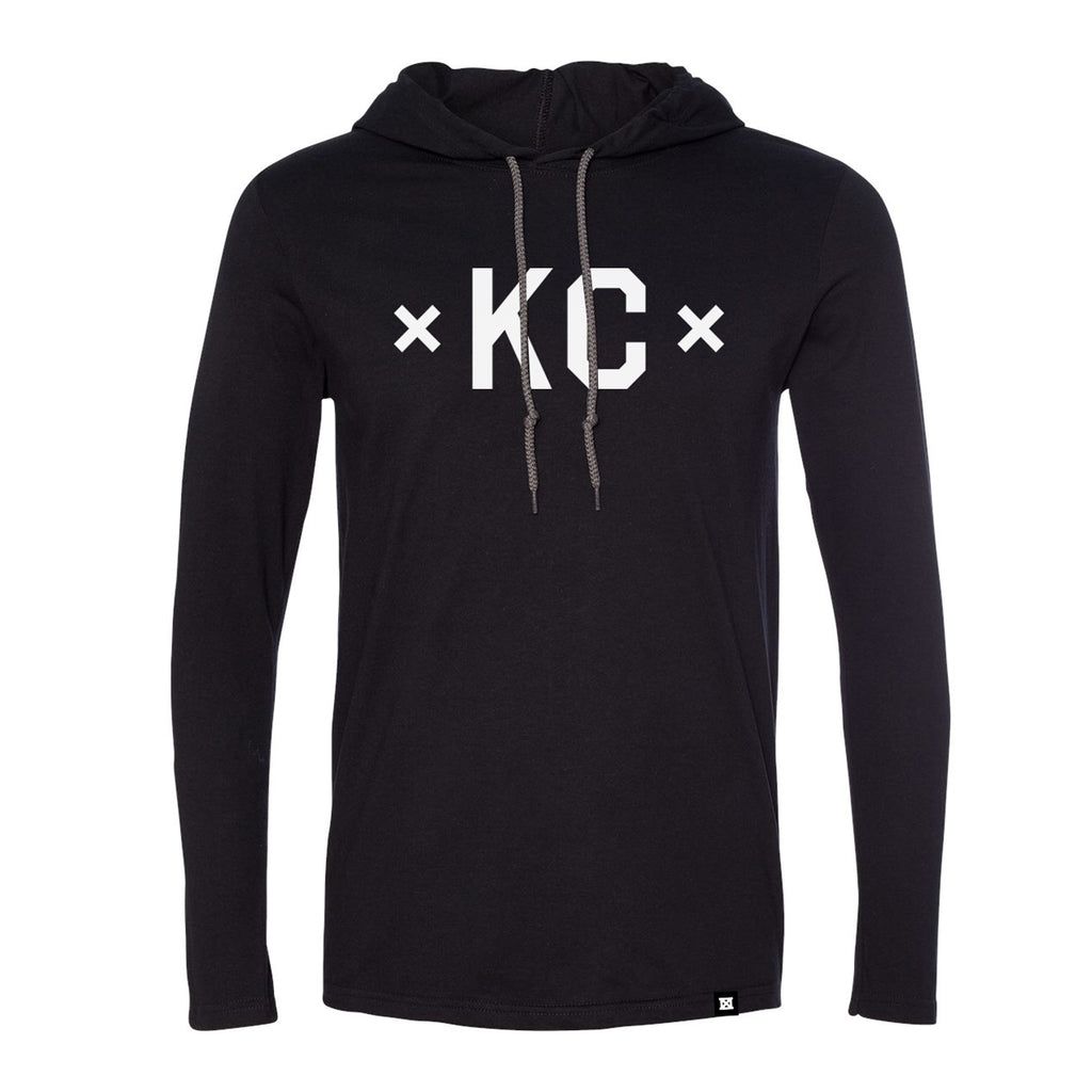 Signature KC Lightweight Hoodie - Black