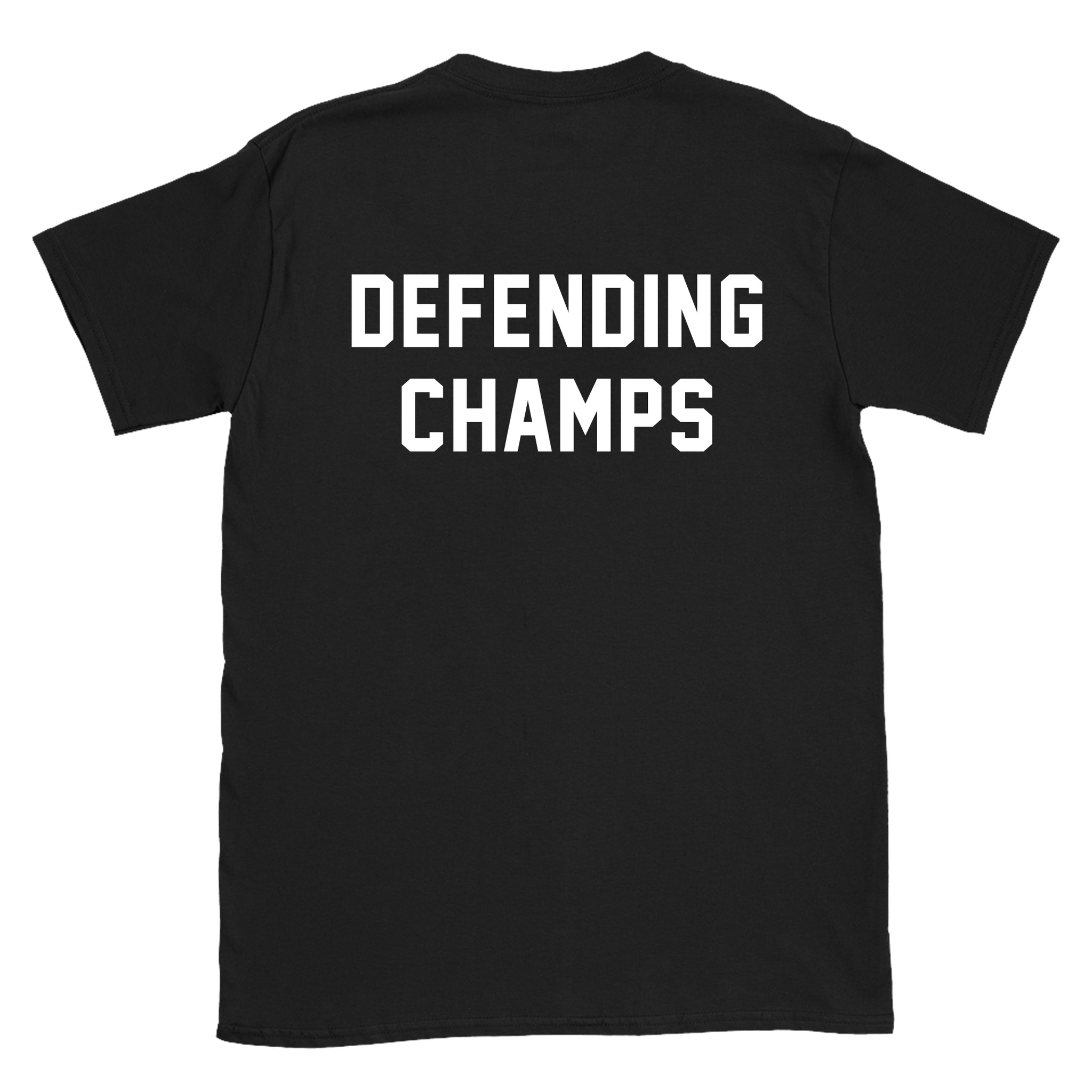 DEFENDING CHAMPS - Black