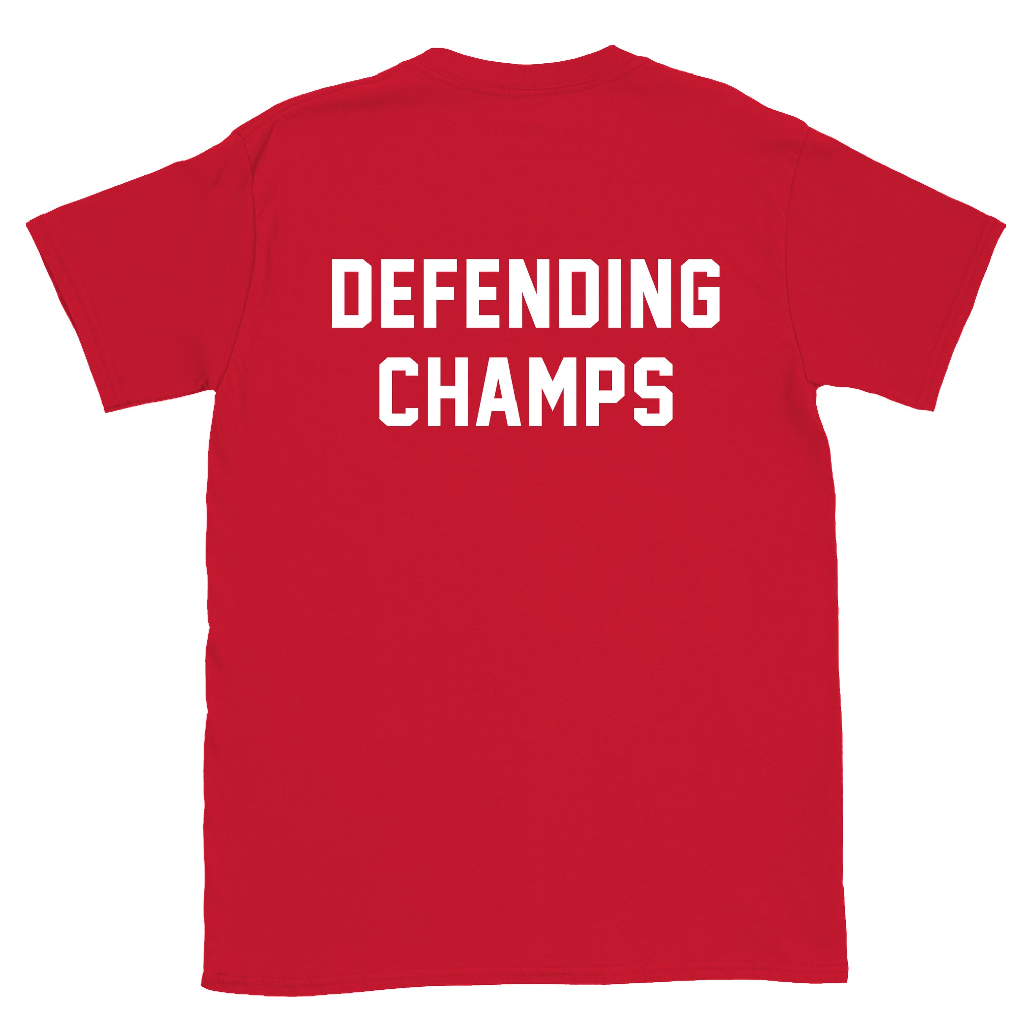 DEFENDING CHAMPS - Red