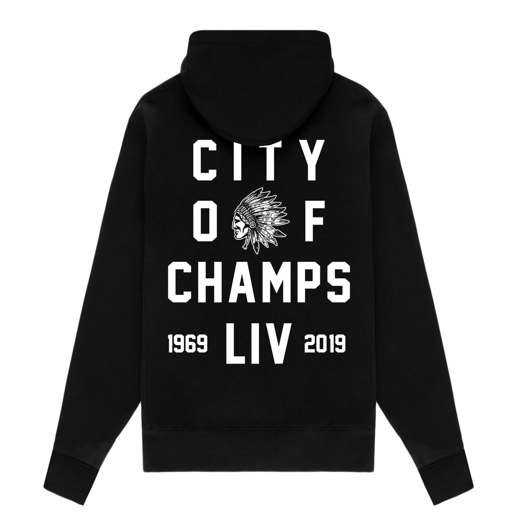 City of Champs Hoodie - Black