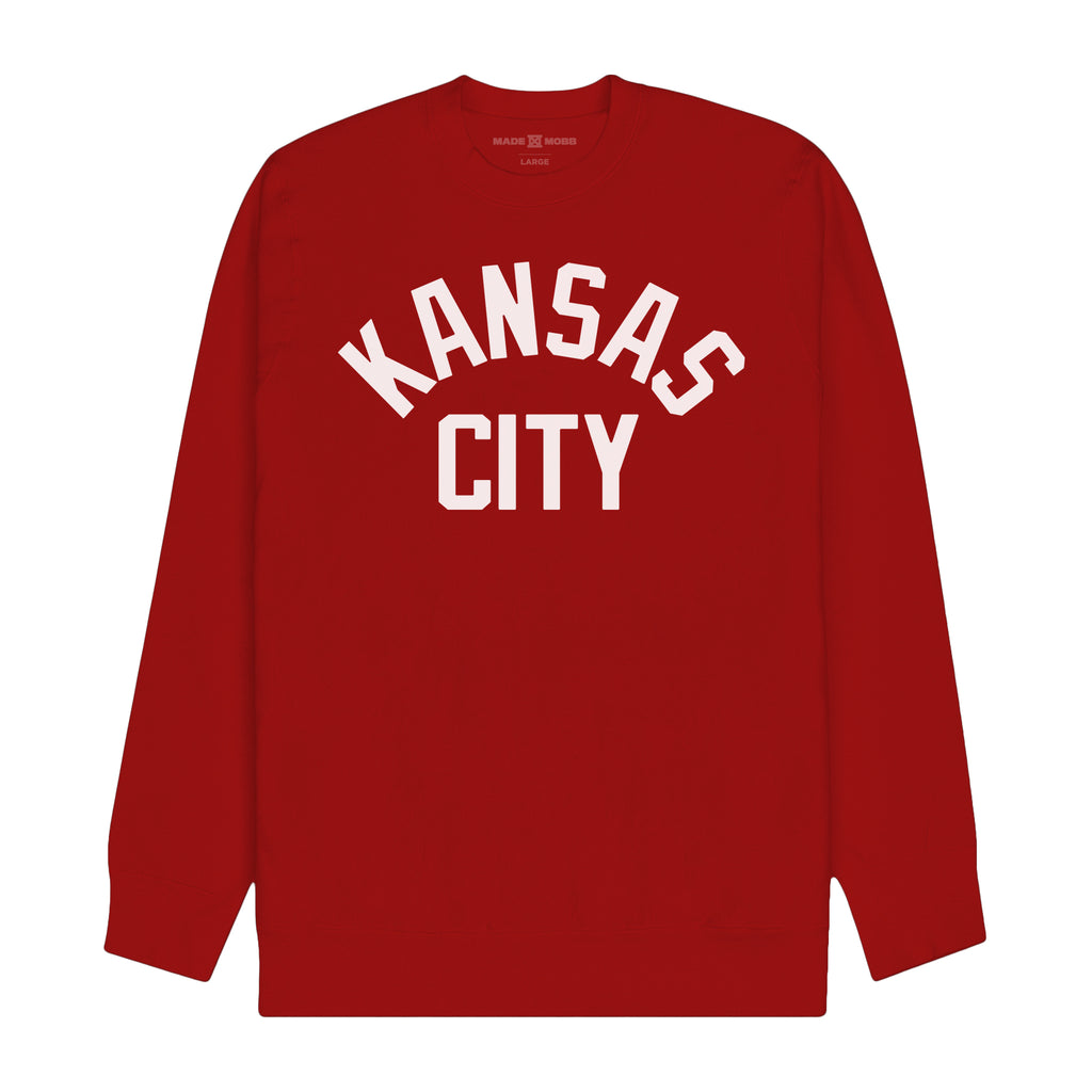 KC OG Crew - Red / Shipping By Feb. 5th