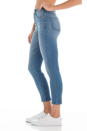 Fidelity Denim Gwen Crop Perfidia High Rise Jean