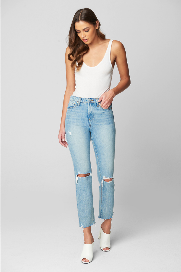 Perfect Places Straight Jeans