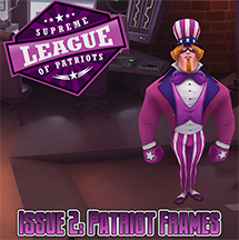 Supreme League of Patriots - Issue 2: Patriot Frames