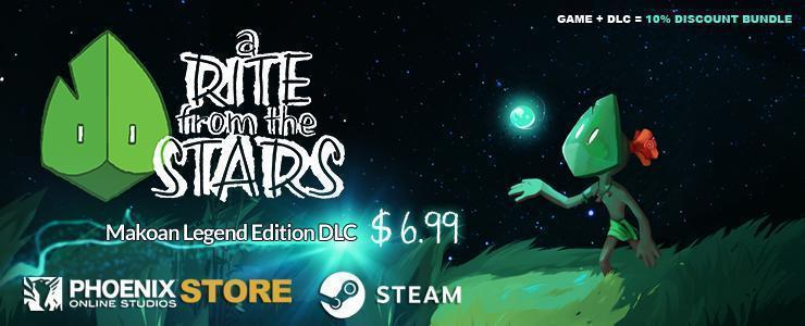 A Rite from the Stars Makoan Legend Edition DLC- Available now!