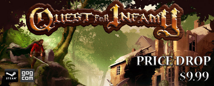 Quest for Infamy - Price Drop!