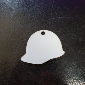 Hard Hat Sublimation Blank | Key Chain | Key Ring Sublimation