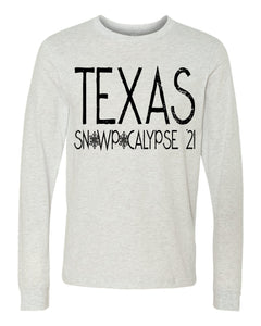 Texas Snowpocalypse 21' Screen Print Transfer Pre Order Shipping March 4th