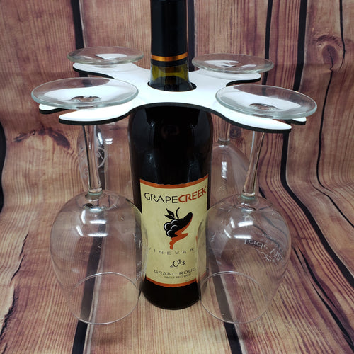 Wine Glass Holder 4 Glasses