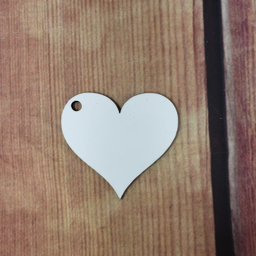Heart Sublimation Blank | Key Chain | Key Ring Sublimation