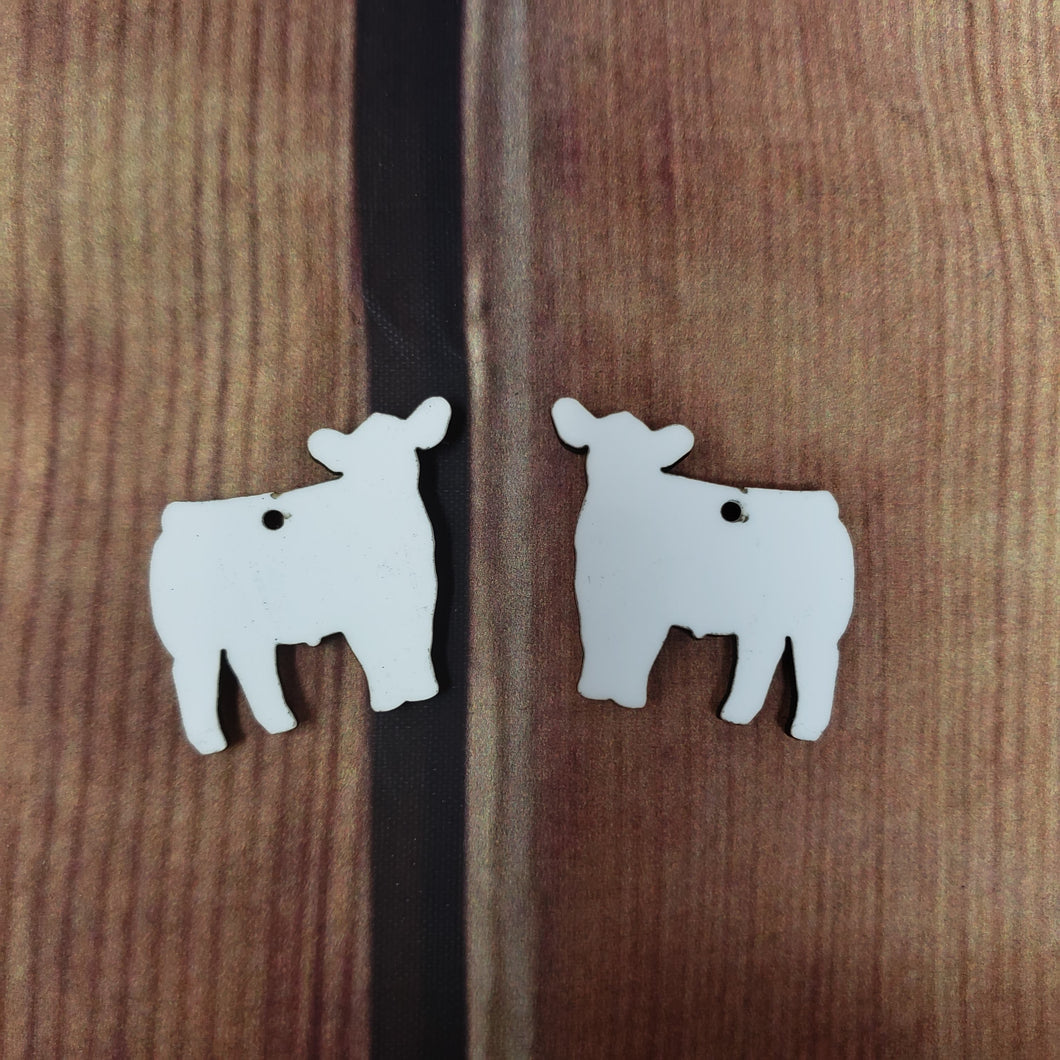 Show Cow Earring Sublimation Blank | Earring | Sublimation
