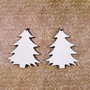 "1.7"" Pointy Tree Sublimation Blank 