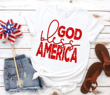 Load image into Gallery viewer, God Bless America - Red, White, and Blue Available