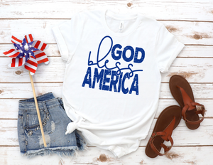 God Bless America - Red, White, and Blue Available