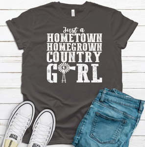Home Town Home Grown Country Girl