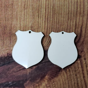 Badge Earring Sublimation Blank | Earring | Sublimation