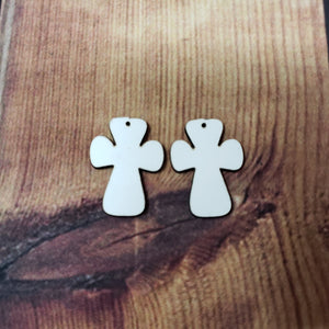 Cross Earring Sublimation Blank | Earring | Sublimation