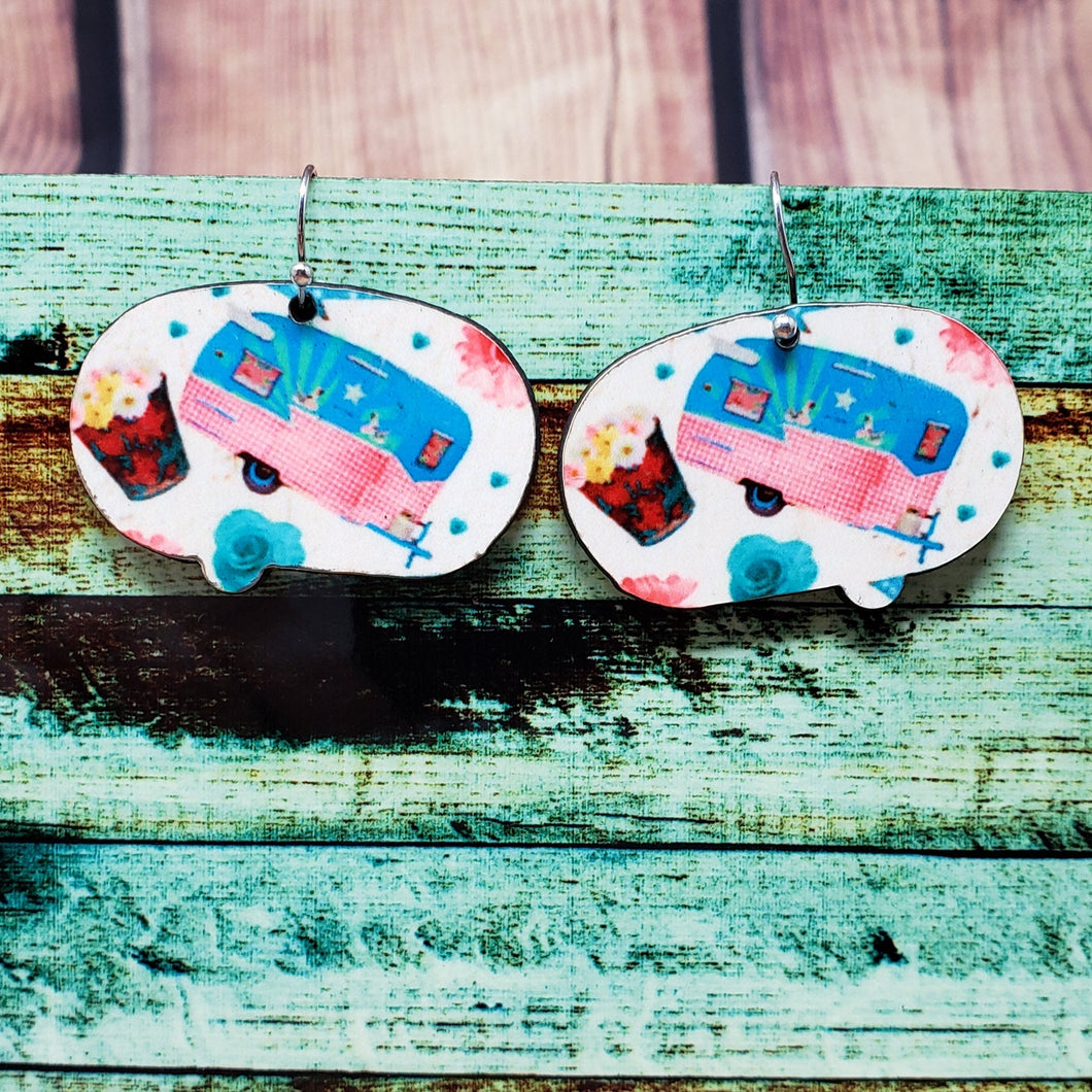 Camper Earring Sublimation Blank | Earring | Sublimation