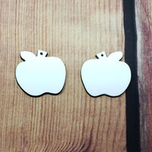 Load image into Gallery viewer, Apple Earring Sublimation Blank | Earring | Sublimation