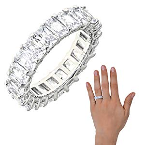 White Diamond Maya J Ring