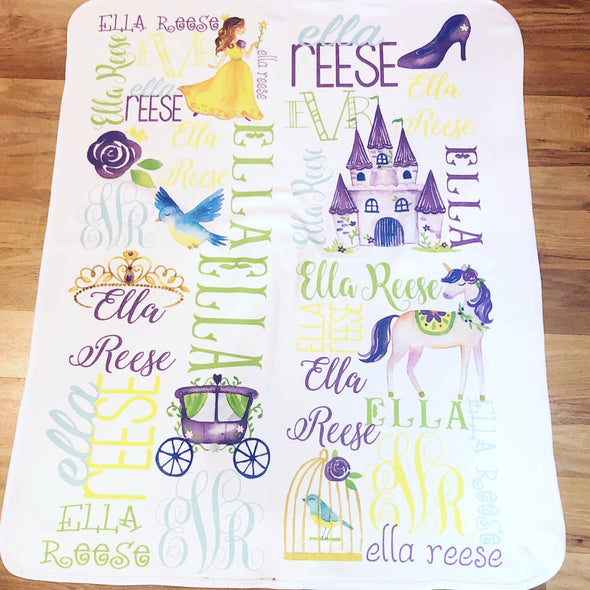 Personalized Fairy Tale Blanket