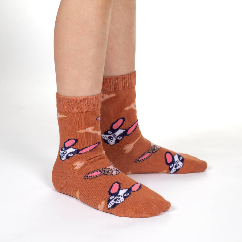 Bees, Bunnies and Dogs Kids Socks