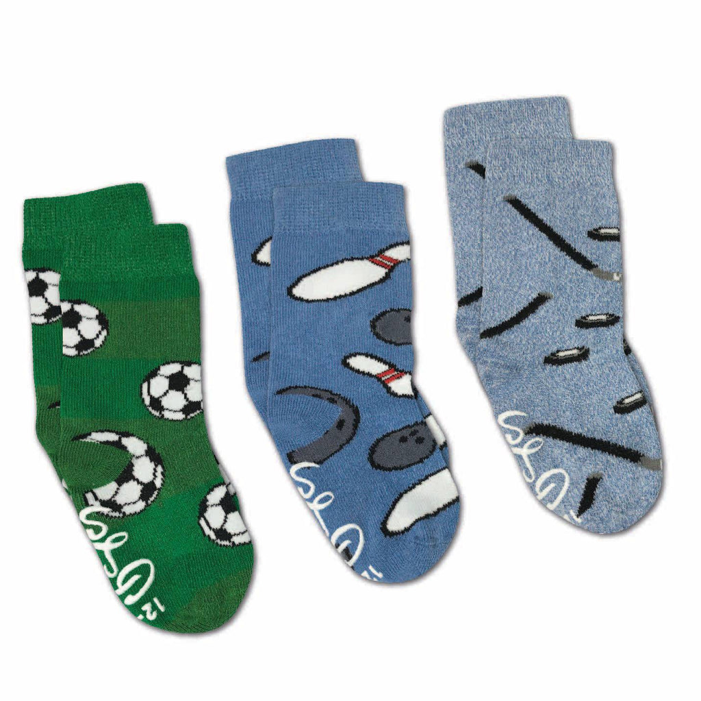 Bowling, Hockey and Soccer Kids Socks
