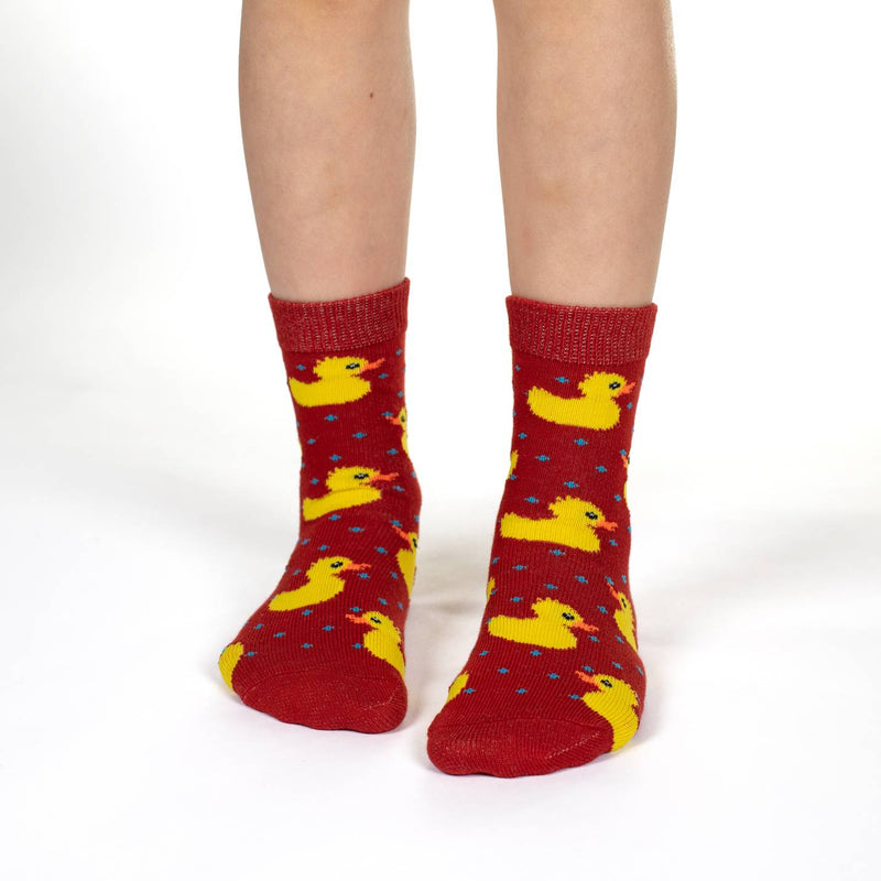 Rubber Ducks, Sharks and Turtles Kids Socks