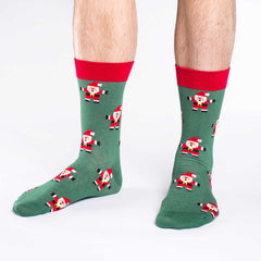 Men's Santa Claus Socks - Good Luck Sock