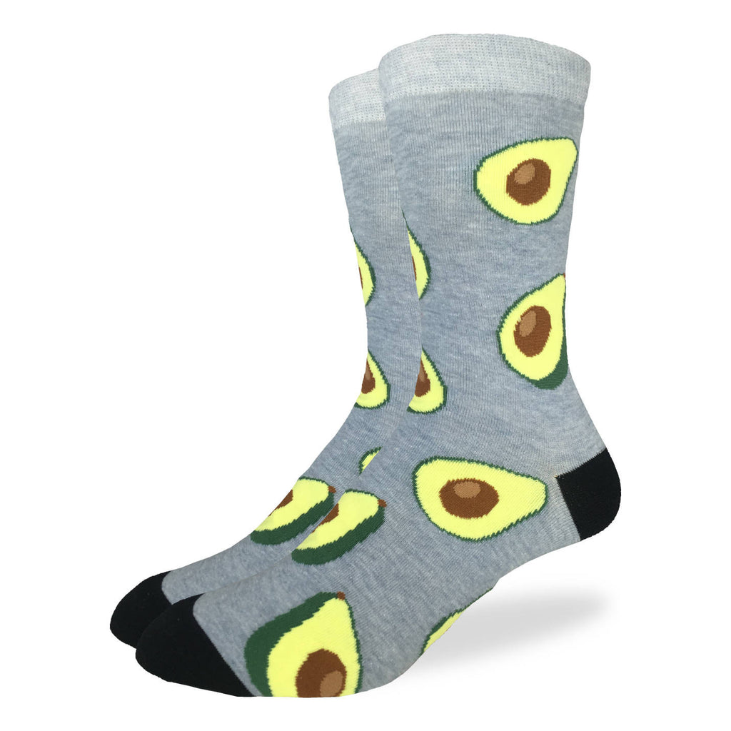 Men's King Size Avocado Socks
