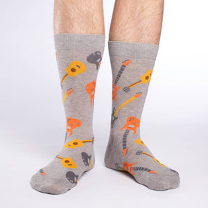 Men's King Size Guitars Socks