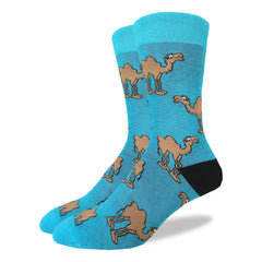 Men's Camel Socks - Good Luck Sock