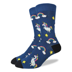 Men's Unicorns Socks - Good Luck Sock