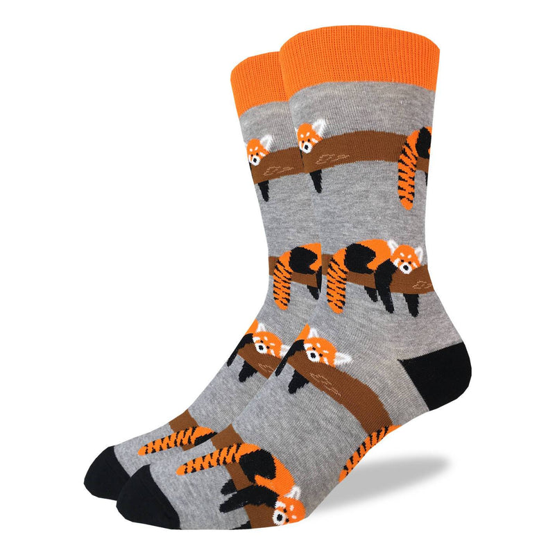Men's King Size Red Panda Socks
