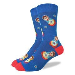 Men's Nesting Dolls Socks - Good Luck Sock