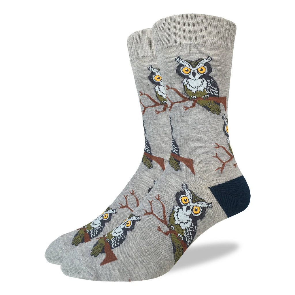 Men's Perching Owls Socks